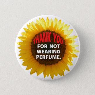 SunflowerNoPerfume 6 Cm Round Badge
