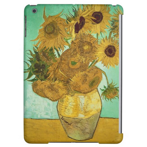 Sunflowers, 1888 2 cover for iPad air