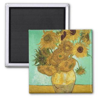 Sunflowers, 1888 2 magnet