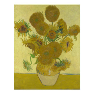 Sunflowers, 1888 (Vincent Van Gogh) Poster
