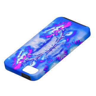 """Sunflowers"" Abstract Psychedelic Art iPhone Case"