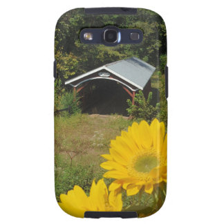 Sunflowers and Cover bridge Galaxy S3 Case