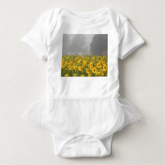 Sunflowers and Mist Baby Bodysuit