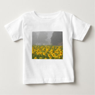 Sunflowers and Mist Baby T-Shirt