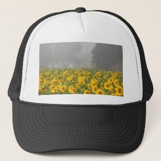 Sunflowers and Mist Trucker Hat
