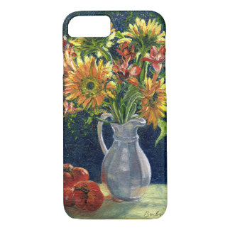 """Sunflowers And Tomatoes"" Phone Case"