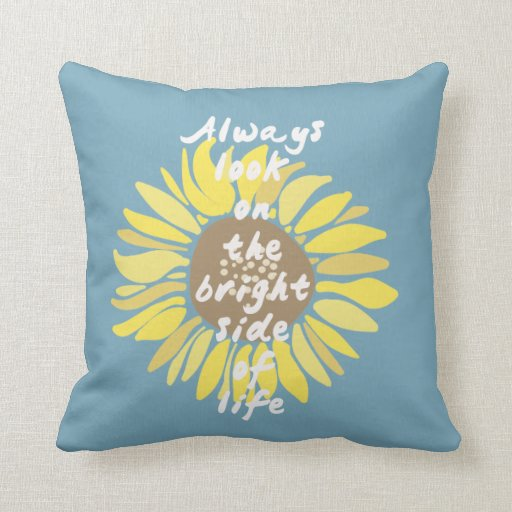Sunflowers Bright Side Pillows