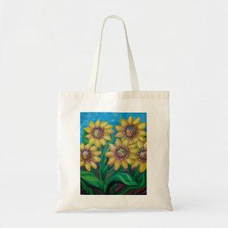 Sunflowers Budget Tote Bag
