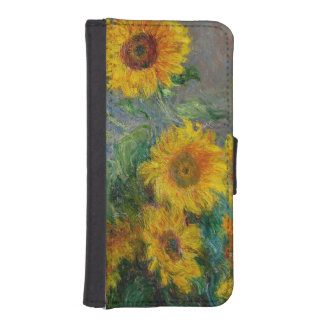 Sunflowers by Claude Monet iPhone SE/5/5s Wallet Case