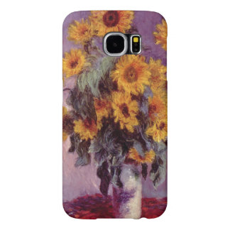 Sunflowers by Claude Monet Samsung Galaxy S6 Cases