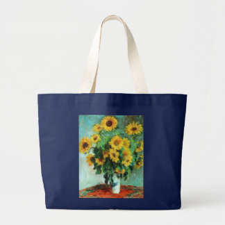 Sunflowers by Claude Monet Tote Bag