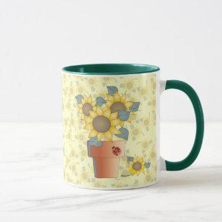 SUNFLOWERS by SHARON SHARPE Mug