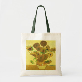 Sunflowers By Vincent Van Gogh Canvas Bags