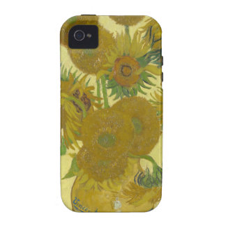 Sunflowers By Vincent Van Gogh iPhone 4/4S Covers