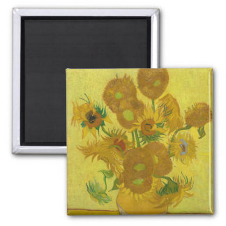Sunflowers by Vincent van Gogh Refrigerator Magnet