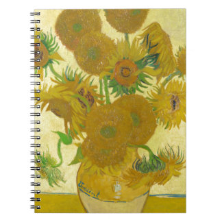 Sunflowers by Vincent van Gogh Note Book