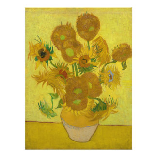 Sunflowers by Vincent van Gogh Photo Print