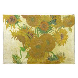 Sunflowers by Vincent van Gogh Place Mat