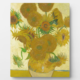 Sunflowers by Vincent van Gogh Plaques