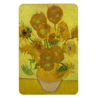 Sunflowers by Vincent van Gogh Vinyl Magnet