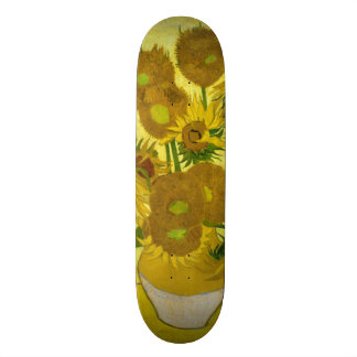 Sunflowers by Vincent Van Gogh Skateboards