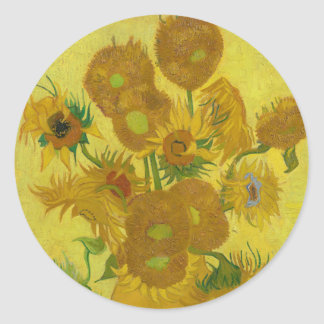 Sunflowers by Vincent van Gogh Stickers