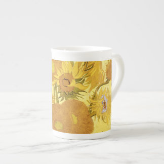 Sunflowers by Vincent van Gogh Tea Cup