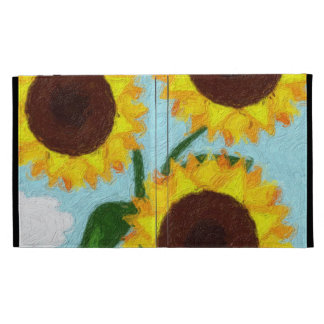 Sunflowers iPad Folio Covers