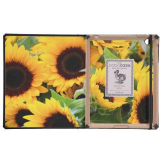 Sunflowers iPad Folio Cover