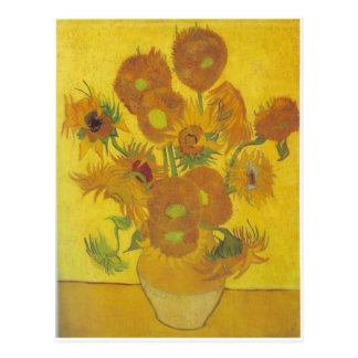 Sunflowers F. 458 ~ Van Gogh Postcard
