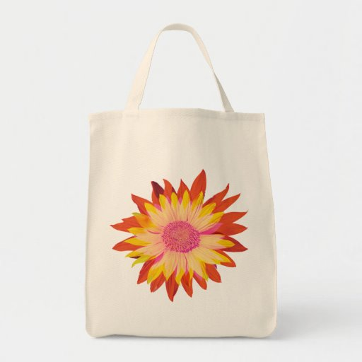 Sunflowers Grocery/Tote Bag