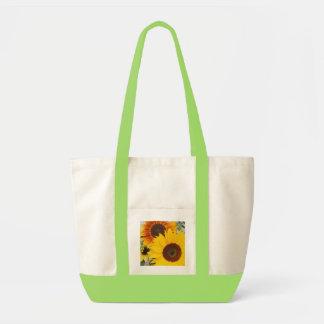 sunflowers impulse tote bag