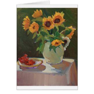 Sunflowers in Sunlight Card