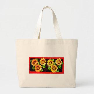 Sunflowers Jumbo Tote Bag