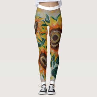 Sunflowers Leggings