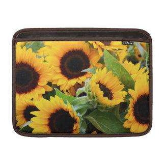 Sunflowers MacBook Sleeves
