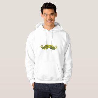 Sunflowers man Basic Hooded Sweatshirt, White Hoodie