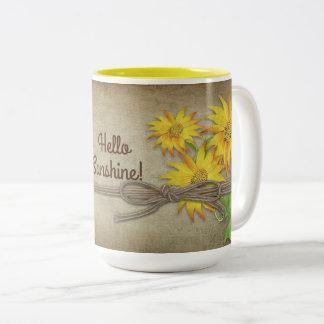 Sunflowers - Mug - Personalise