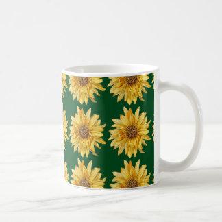 Sunflowers on a green field - Summer Coffee Mug