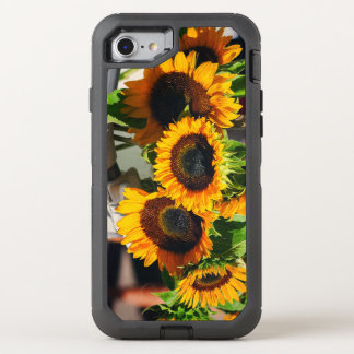 SunFlowers OtterBox Defender iPhone 7 Case