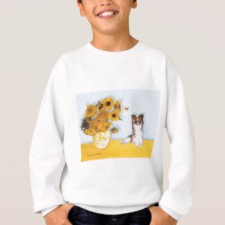 Sunflowers - Papillon 6 Sweatshirt