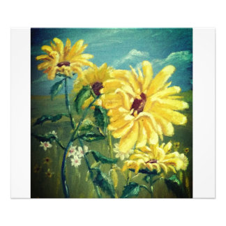 Sunflowers Photo Print