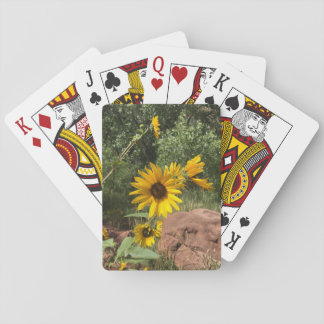 Sunflowers Playing Cards