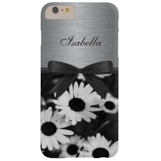 Sunflowers print on Faux metal iPhone 6 Case