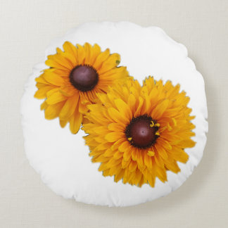 Sunflowers Round Cushion