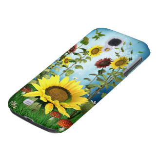 Sunflowers Samsung Galaxy S4 Case