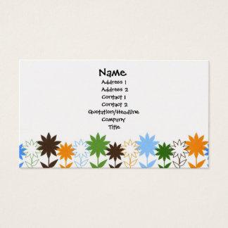Sunflowers shadows - Customised Business Card