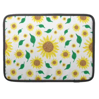 Sunflowers Sleeve For MacBook Pro