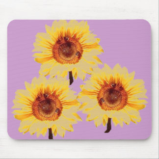 SUNFLOWERS Spring Flowers Mousepad