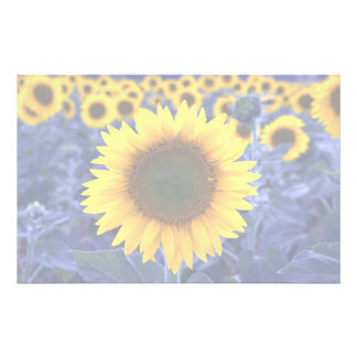 Sunflowers Stationery Paper